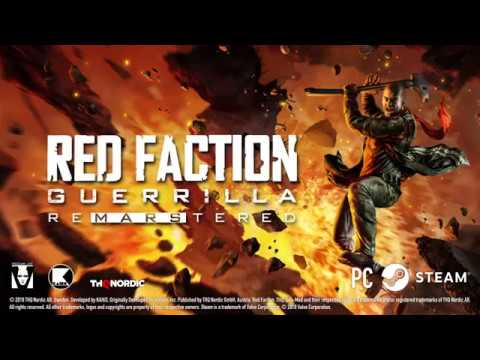 Red Faction Guerrilla Re-Mars-tered Edition Trailer