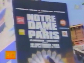 Mister Biz - репортаж M6 о мюзикле Notre Dame de Paris 1998