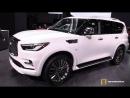 2019 Infiniti QX80 - Exterior and Interior Walkaround - 2018 New York Auto Show