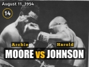 Арчи Мурvs Гарольд Джонсон (Archie Moore vs Harold Johnson) V. 11.08.1954 (14 round)
