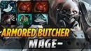 MagE Pudge [ARMORED BUTCHER] Highlights Dota 2