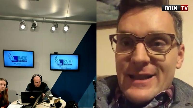 Польский политолог, журналист, публицист Якуб Корейба в программе Абонент доступен MIXTV
