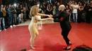 Танцуют Жорж Атака и Таня Ла Алемана.