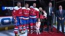 Вашингтон Кэпиталз поздравил Брукса Орпика с 1000 ым матчем в НХЛ