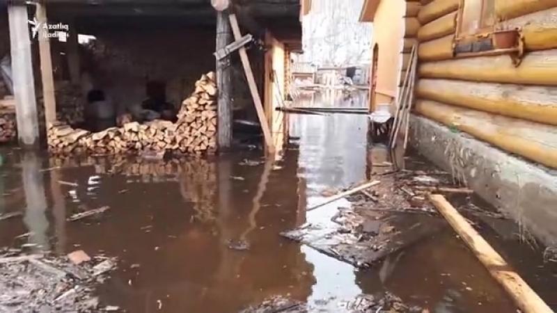 Башкортстанда Бөрҗән районы авылларын су баса