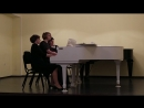 К. Черни, Рондо - исп. фортепианное трио Трилистник (Е. Щенникова, Н. Подшивалова, К. Видрих)