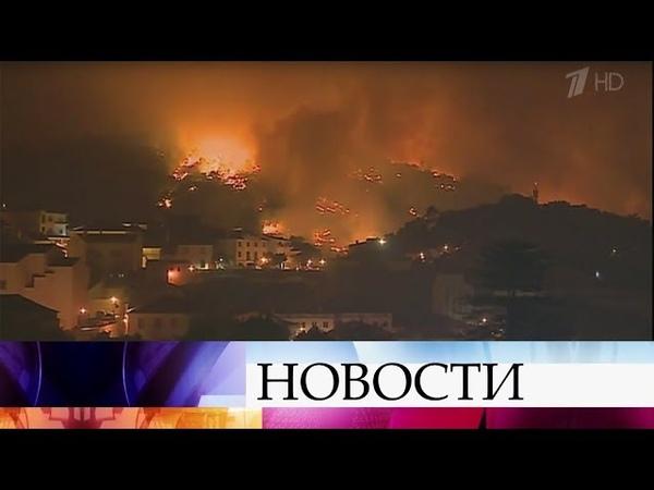 В Испании эвакуируют туристов и жителей в районах, где полыхают пожары.