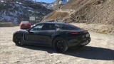 Porsche Taycan prototypes spotted being benchmarked against older Tesla Model S