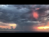 Закат в Любимовке