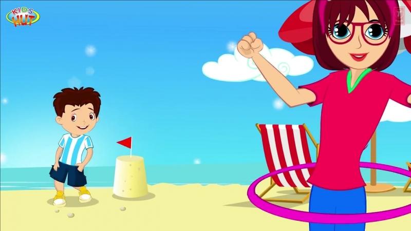 SUMMER SUMMER Song (Sunny Sunny) - Dance Song for Kids - KIDS HUT