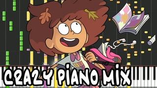 Crazy Piano Mix! AMPHIBIA THEME
