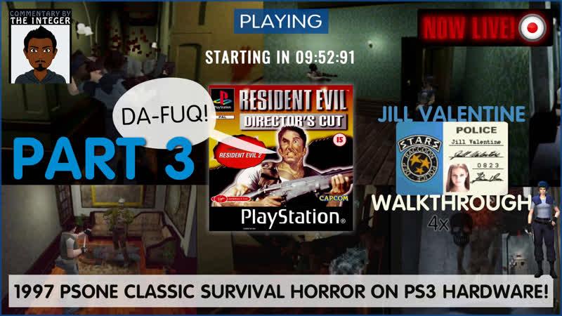 It's Jill ValenTime! RE2Remake prep with Resident Evil: Directors Cut | Part 3