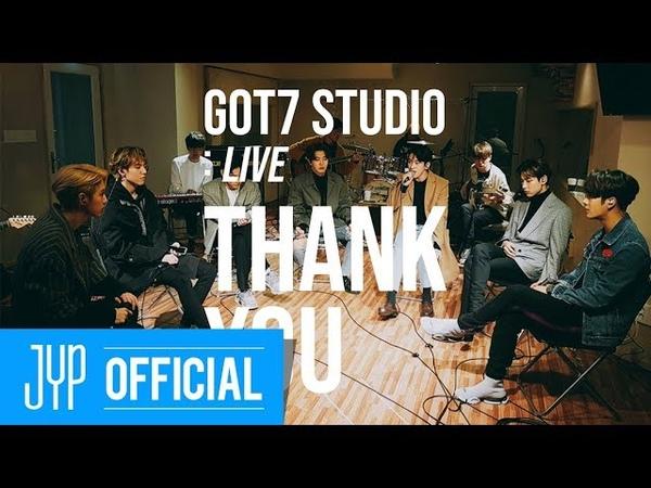 [GOT7 STUDIO] GOT7 Thank You(고마워) Live