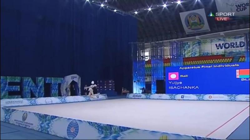Yuliya Isachanka - Ball Final - WC Tashkent 2018_HD.mp4