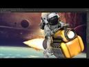 The Space Biker - Speed art ( Photoshop)