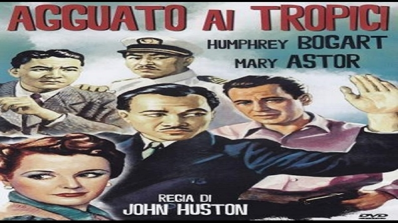 1942 John Huston -Across the Pacific - Humphrey Bogart, Mary Astor, Sydney Greenstreet