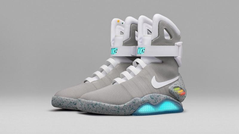 Кроссовки Nike Air MAG из фильма «Назад в Будущее»