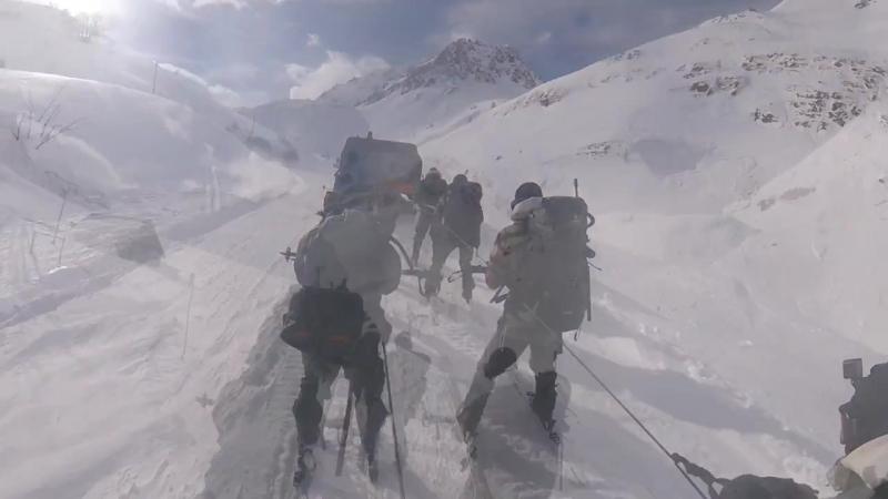 Иностранный легион - марш и стрельбы в горах - Legion Etrangere - marhce et tir dans les montagnes