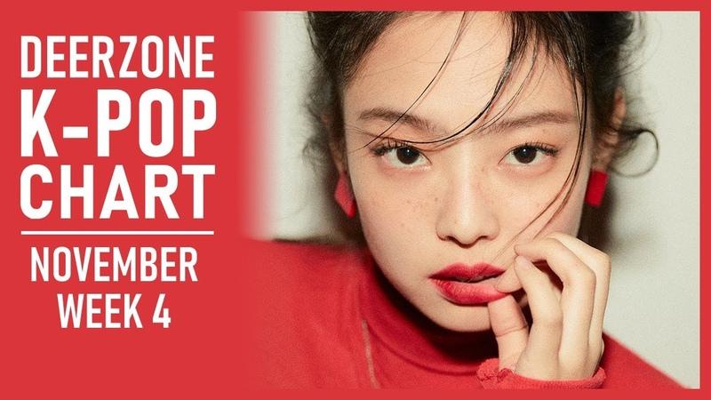 DEERZONE K-POP CHART | NOVEMBER 2018 | WEEK 4