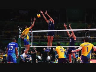 Top 100 best blocks in volleyball history (hd)
