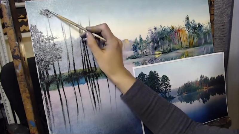 Надежда ильина. Уроки живописи для начинающих.