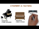 GLI STRUMENTI MUSICALI (lessico italiano)