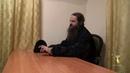 Иеромонах Нил Парнас отвечает на вопросы в доме паломника 12 11 2018