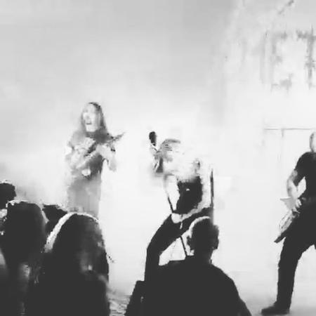 "NordWitch_masha on Instagram: ""mhm2018 mhm blackseastorm metalfest metalhead metalband nordwitch ⚔️blackened blackmetal deathmetal"""