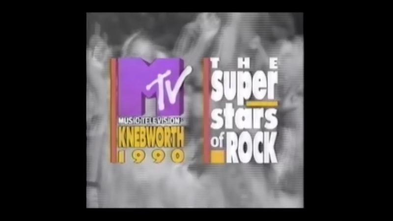 MTV AD Knebworth '90 (MTV US 1990)