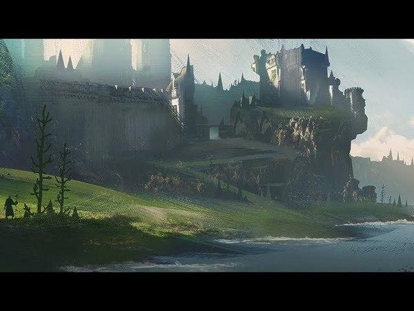 Castle Bay Digital Painting Time-Lapse