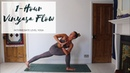 1 HOUR YOGA | Intermediate Vinyasa Flow Yoga | CAT MEFFAN
