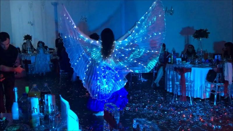 Harem light dance show Гарем светодиодное танцевальное шоу