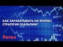 Заработок на Форекс 1000$ за минуту в реальном времени Скальпинговые стратегии на Форекс