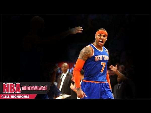Carmelo Anthony Full Highlights 2012.12.11 at Nets - NASTY 45 Pts, MVP Chant For PRIME MELO!