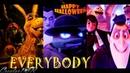 EVERYBODY: Backstreet's Back! Ft Raph Vampire TMNT/SHREK/HOTEL TRANSYLVANIA (Happy Halloween 2018) ♫