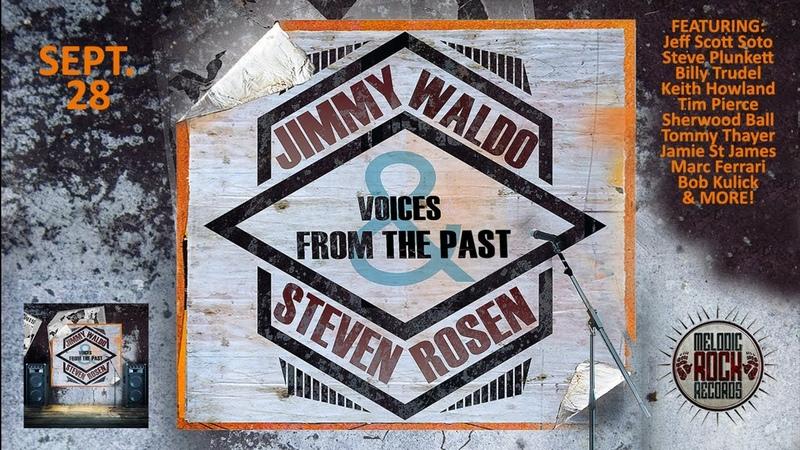 Jimmy Waldo Steven Rosen w/Jeff Scott Soto - Ice (Album Out Sept 28)