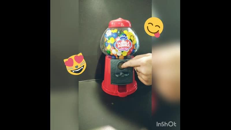 Автоматы с жевательными резинками MarmeLove