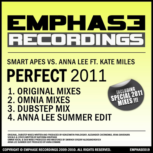 Smart Apes альбом Perfect 2011