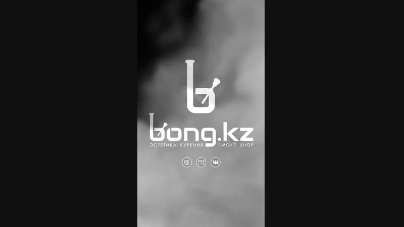 Видео обзор на стеклянный бонг Sheldon Black Estetic