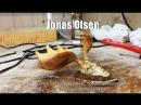 I try to make an Irish elk sculpture _ wood carving video by Jonas Olsen