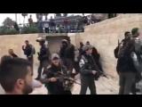 Les forces d'occupation isra