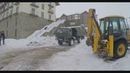 16 ноября под воздействием снега в NEW GUDAURI LOFT 1 разрушена часть новостройки