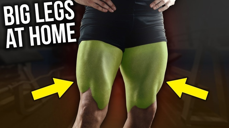 BEAST Leg Workout With Dumbbells ONLY (8mins = BIGGER LEGS)