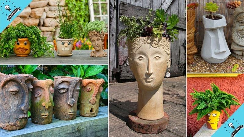 Face Pot Garden Ideas | John Ideas