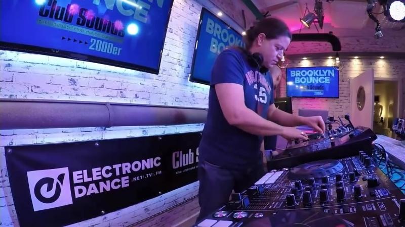 CLUB SOUNDS 2000er -►( BROOKLYN BOUNCE )- Live DJ-Set - Mental Madness Rec. (GER)