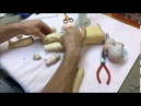 Step By Step How To Restring An Antique Ball Jointed Doll
