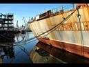 Печальное зрелище, символ разрухи проход кораблей Украины под Крымским мостом