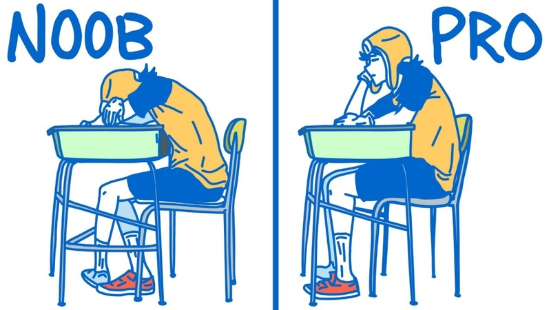 How To Sleep In Class Like A Professional (High School/College Edition)