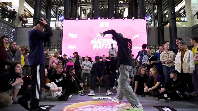 Everest battle 2.0.1.9   Hip-Hop PRO   Semi-Final   Laran (win) vs Lil Banza