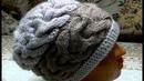 Вяжем шапку в стиле ФРИФОРМ